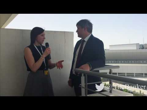 Oleksandr Danylyuk, finance minister, Ukraine - View from EBRD