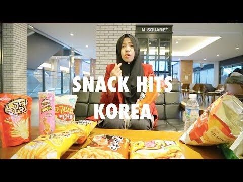 COBAIN SNACK HITS KOREA