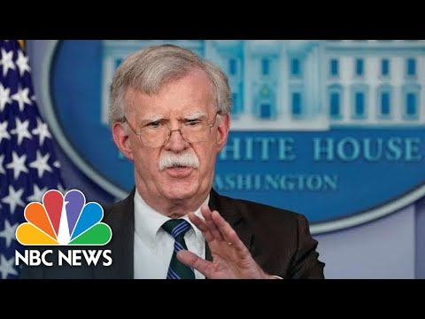 'His Services Are No Longer Needed': Trump Fires National Security Adviser John Bolton | NBC News