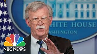 'His Services Are No Longer Needed': Trump Fires National Security Adviser John Bolton   NBC News