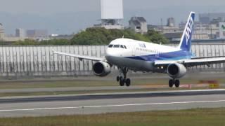 JA8391 ANA A320 RWY32L LD100430