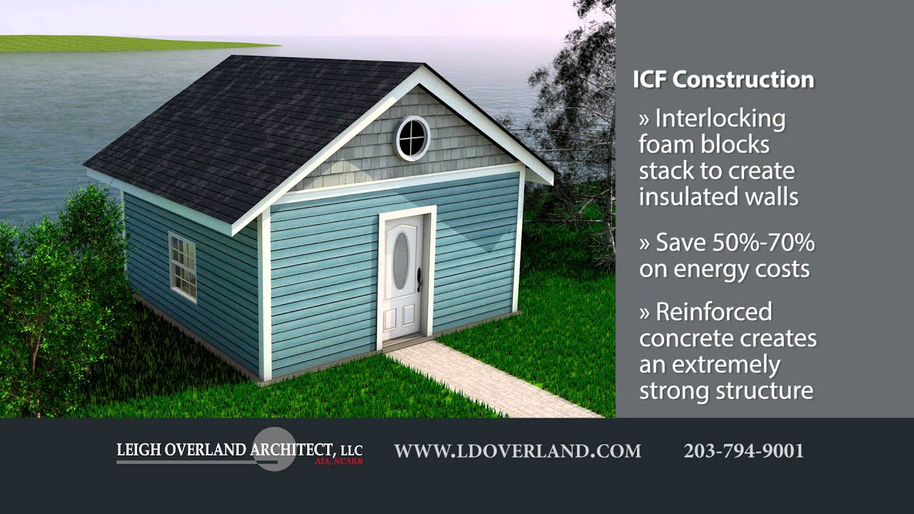 ICF Construction with Leigh Overland Architect | Insulated Concrete Forms