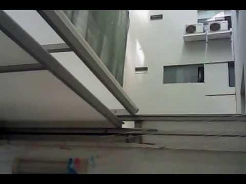 Techo corredizo tres hojas en policarbonato 921225318 - Techos de aluminio para terrazas ...