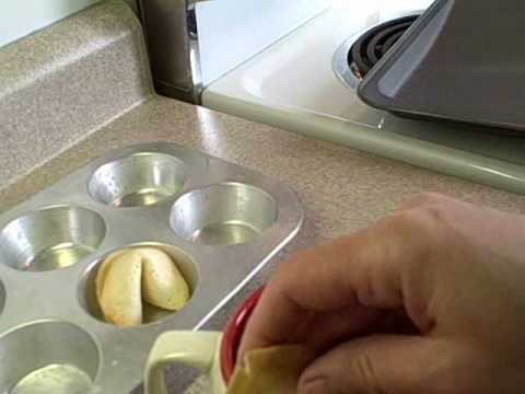 Fortune cookies recipe uk