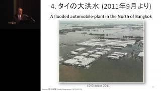 京都大学経済研究所 50周年記念講演会 藤田 昌久 先生
