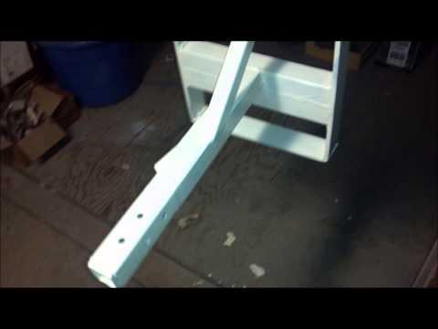 Building An Adjustable Bench Grinder Stand