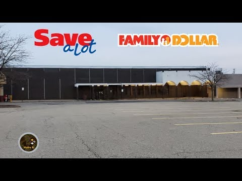 Abandoned Save A Lot / Family Dollar Natrona Heights, PA