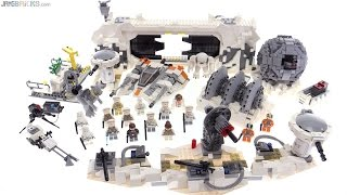 LEGO Star Wars UCS Assault on Hoth review! 75098