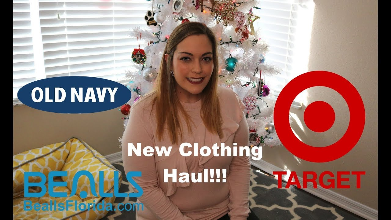 New Clothing Haul! Old Navy, Target, Forever 21, Bealls - YouTube