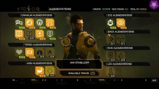 Deus Ex Human Revolution (DEHR) - multiple hacks - hp, energy, weapons, ammo, items, credits, exp
