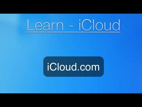 iCloud Tutorial: iCloud.com website.