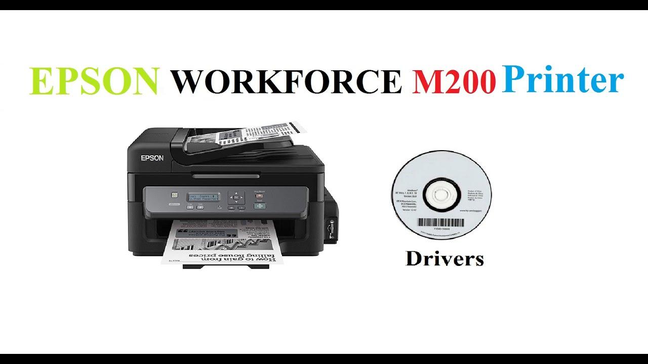 Epson M200 Driver Youtube