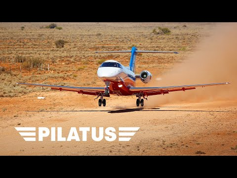 PC-24 – First RFDS Landing on an Unpaved Strip in the Australian Outback