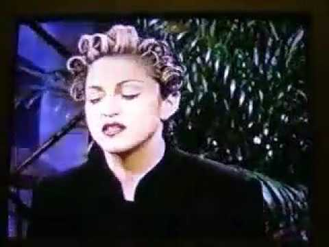 (1994) Madonna Angers 2pac on Jay Leno