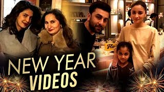 Priyanka Chopra, Alia Bhatt - Ranbir Kapoor | Bollywood Stars New Year 2018 Vacation Videos