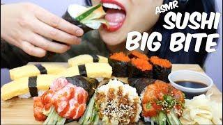 ASMR SUSHI BIG BITE (Eating Sounds) No Talking | SAS-ASMR