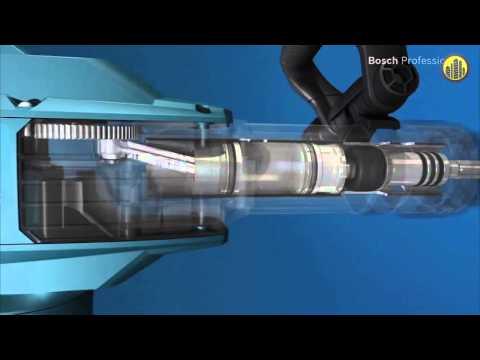 Видео обзор: Отбойный молоток BOSCH GSH 11 VC