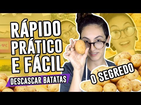 COMO DESCASCAR BATATA RÁPIDO E FÁCIL- Dicas de cozinha  Luma Show