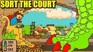 UN DRAGÓN ARRASA MI CASTILLO - SORT THE COURT | Gameplay Español