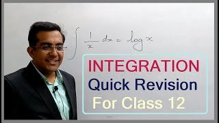 ❖INTEGRATION All Formulas Quick Revision For Class 12th Maths with Tricks and Basics NCERT SOLUTIONS
