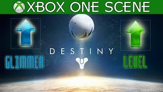 Destiny - Fast & Easy Glimmer, Encrypted Engrams, Items, Level up (Destiny Farming tips)