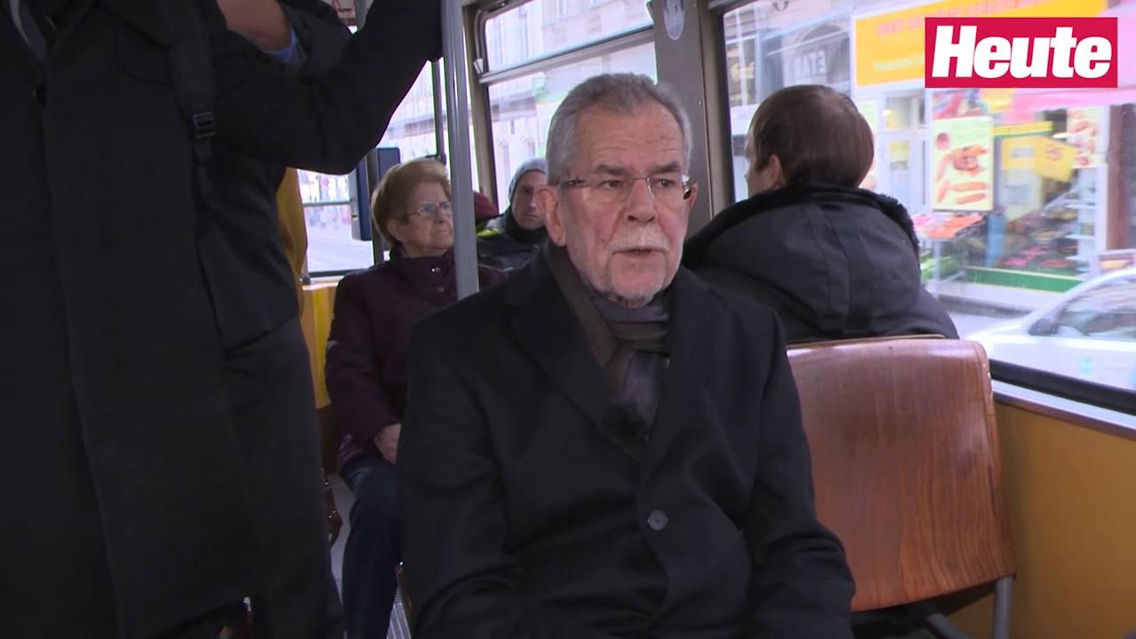 Bp Wahl Alexander Van Der Bellen Im Offi Talk Youtube