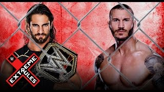 Seth Rollins Vs. Randy Orton (Steel Cage Match) - Extreme Rules 2015 (WWE 2K15)