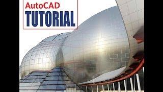 (9) Уроки AutoCAD -  сплайн