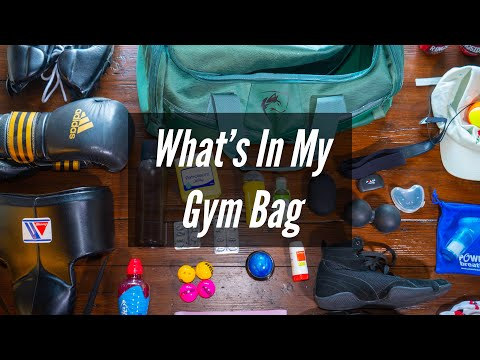 What's In My Gym Bag - Boxing 2018/19