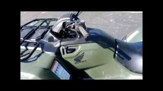 How to Manually Shift a Honda Rancher ATV Automatic Gear Shifting will not work Fix Problem Will