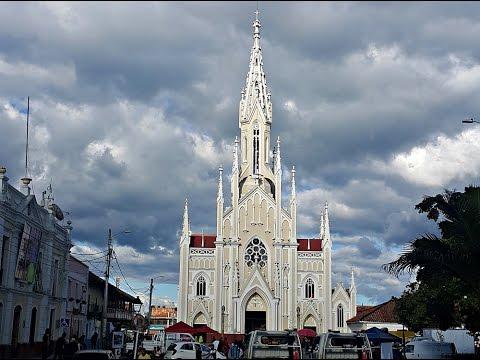 Basilica del Divino Salvador de Ubaté. Colombia