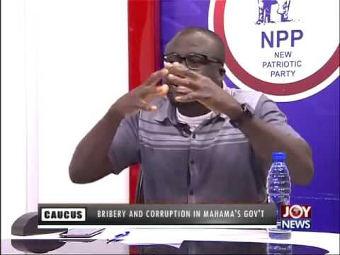 Bribery & Corruption in Mahama's Government - Minority Caucus(23-6-16)