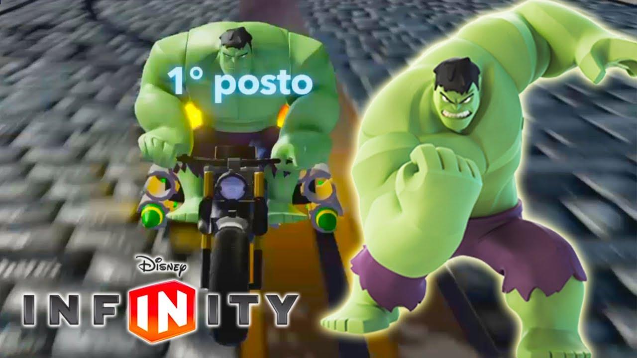 Hulk moto macchine da corsa video giochi di cartoni for Giochi di macchine da corsa