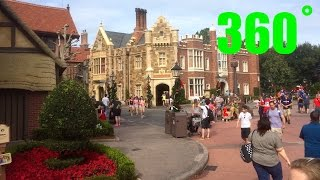 EPCOT England 360˚ INTERACTIVE Walk Around HD Walt Disney World