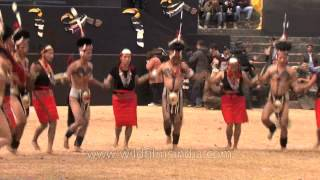 Video Phom Naga tribes-men dressed scantily and dancing merrily, Nagaland download MP3, 3GP, MP4, WEBM, AVI, FLV Juni 2018