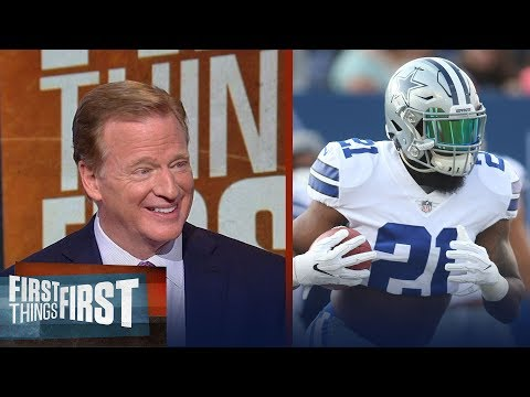 Roger Goodell discusses Colin Kaepernick, Ezekiel Elliott suspension and more | FIRST THINGS FIRST