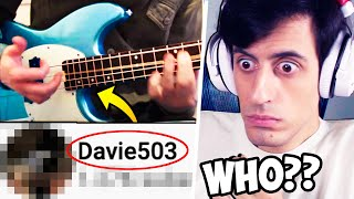 WHO IS THIS BASSIST?