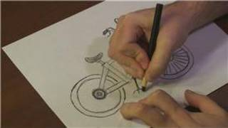 Drawing Vehicles : How to Draw a BMX Bike Step-by-Step