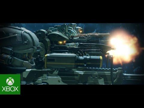 Представлен новый кинематографичный трейлер игры Halo 5 Guardians