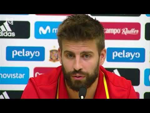 Pique commits to staying with Spain despite fierce criticism