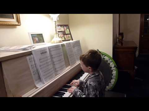 Matt Practices: 5Finger Piano Imperial March Star Wars