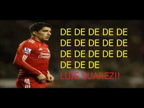 Luis Suarez Song with Lyrics