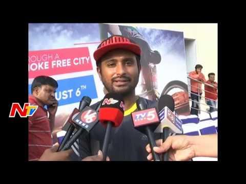 Make Hyderabad Drugs-Free City Says Ambati Rayudu    Wheelathon 2k17    NTV