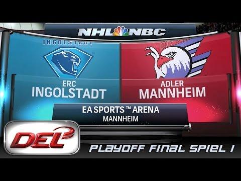 Deutsche Eishockey Liga [DEL] #068 - Adler Mannheim - ERC Ingolstadt (Playoff Finale)