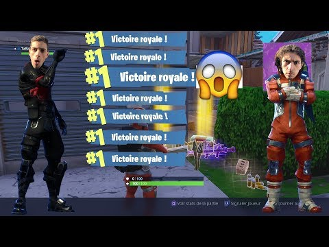 ON FAIT 10 TOP 1 D'AFFILÉ ! INCROYABLE SUR FORTNITE BATTLE ROYALE