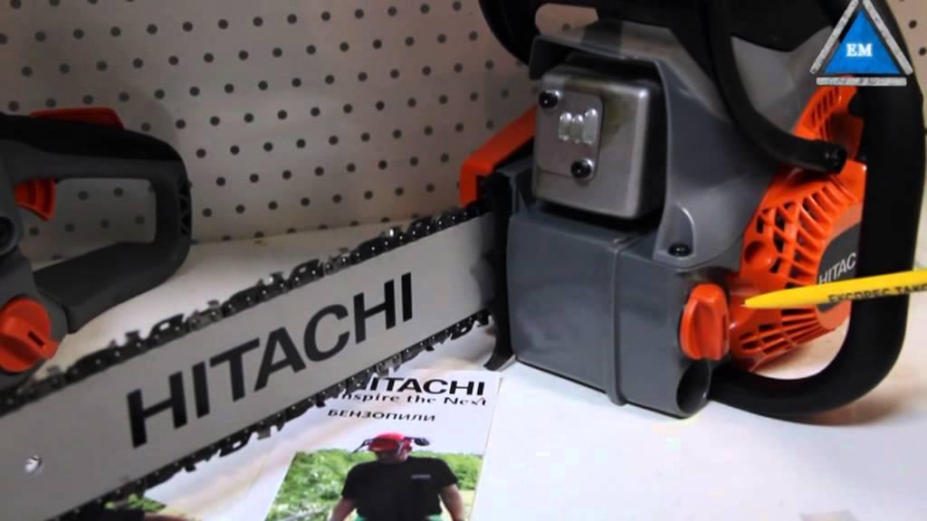 Бензопила Hitachi
