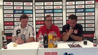 Pressekonferenz SC Pfullendorf - FC 08 Homburg