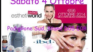 Esthetiworld 4/5/6 Ottobre fiera Milano Incontriamoci Thumbnail