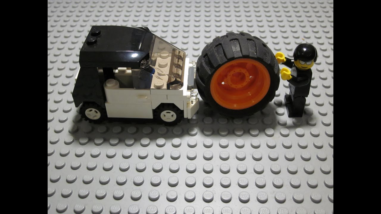 Lego smart car monster truck stopmotion construction 4  YouTube