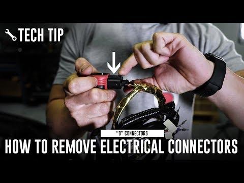"How To Remove Pesky VW/Audi ""D"" Connectors // USP Motorsports"
